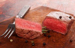 Ein Sous Vide Steak ist ein Genuß.