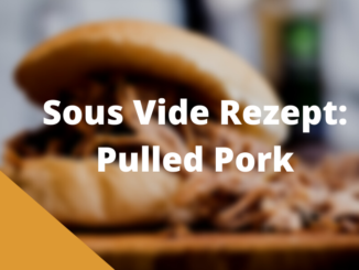 Sous Vide Pulled Pork