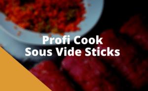 Profi Cook Sous Vide Stick Test